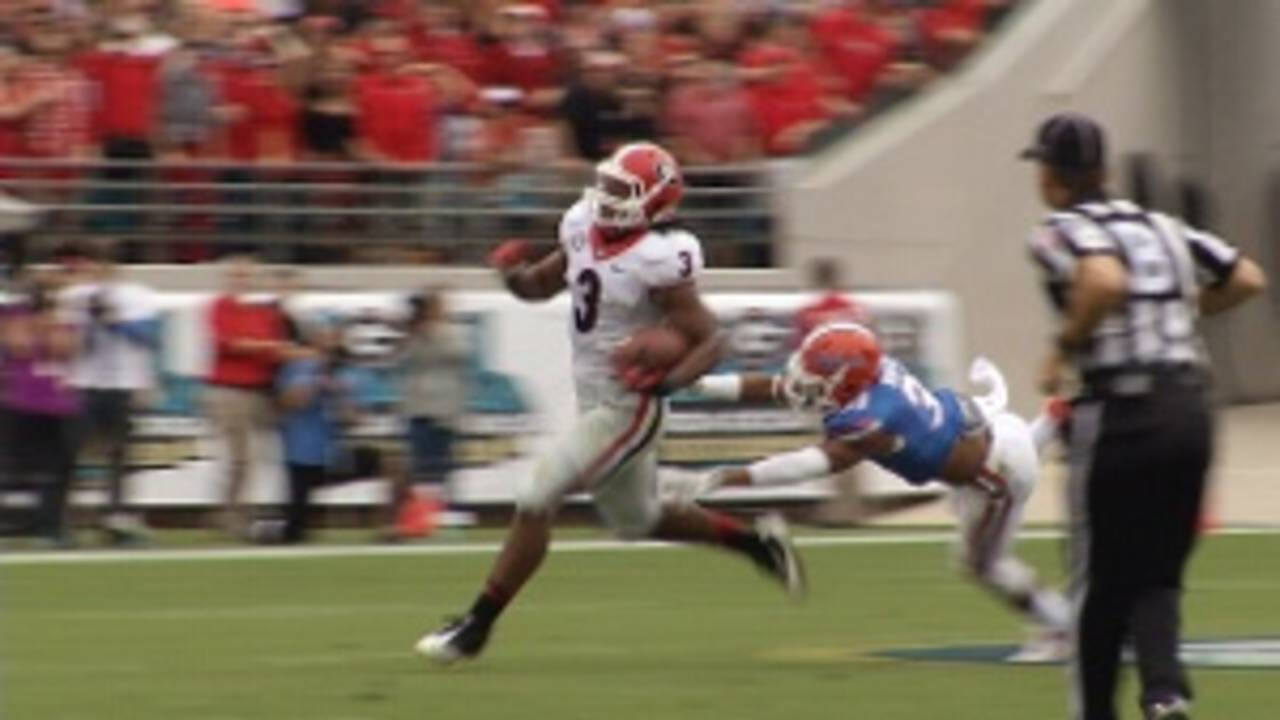8bb8f7d90 Georgia's Todd Gurley suspended 4 games by NCAA