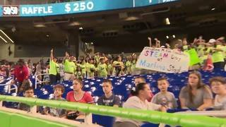 Local 10's Weather Authority team joins students at Marlins Park for STEAM Day