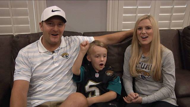 Josh Scobee and family 2