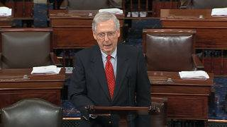 McConnell wonders why Jon Stewart is 'all bent out of shape'