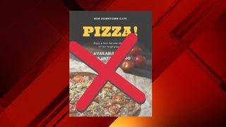 SAPD warns about pizza flyer credit card scam