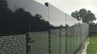 Vietnam Veterans Memorial replica on display in Franklin County