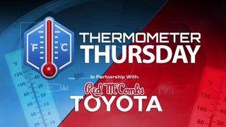 Thermometer Thursday: 8/9/18