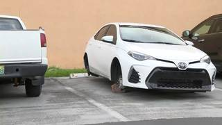 Thieves steal tires, rims from several cars in southwest Miami-Dade County