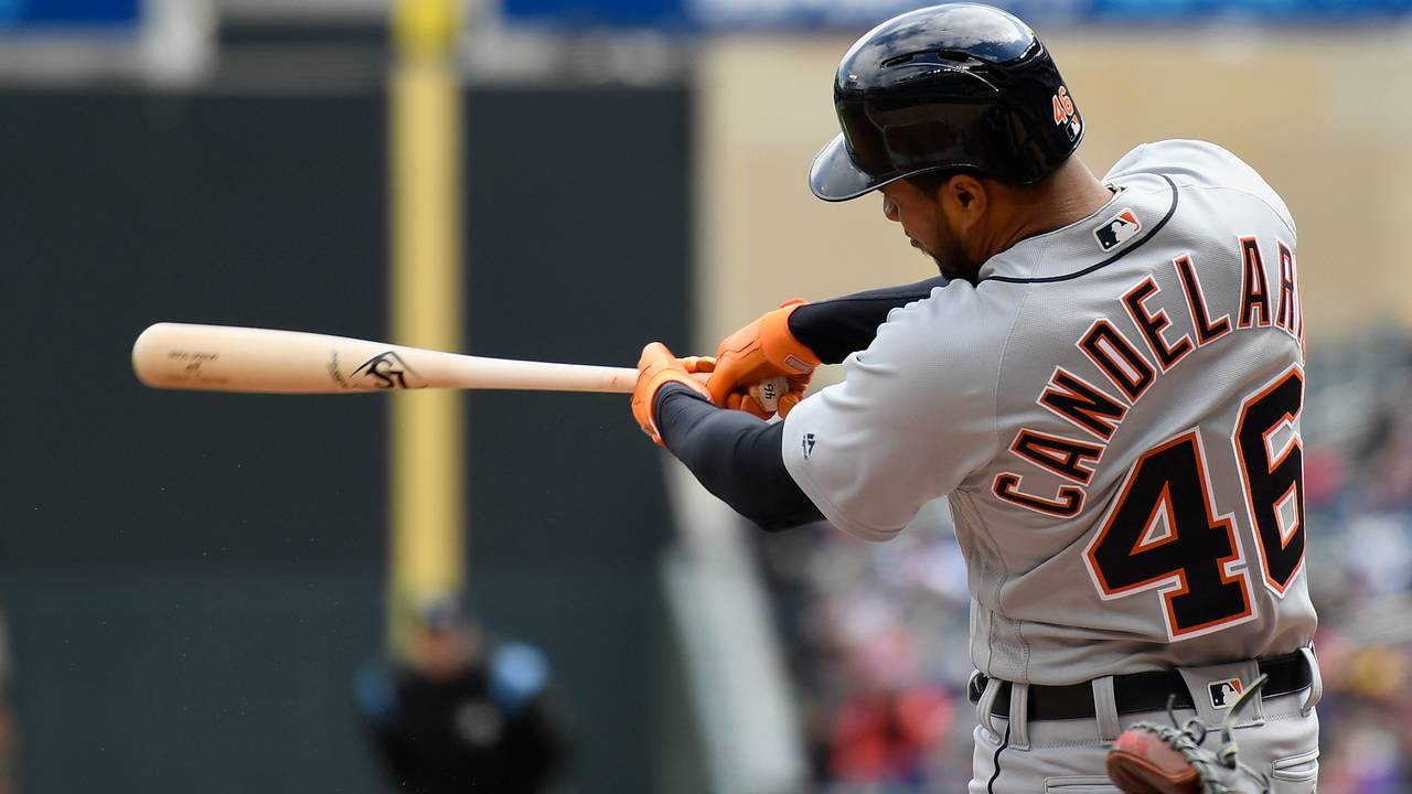 Jeimer Candelario Detroit Tigers vs Twins 2019