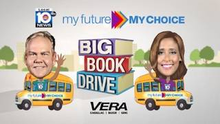 About 25,000 books collected during Local 10's Big Book Drive