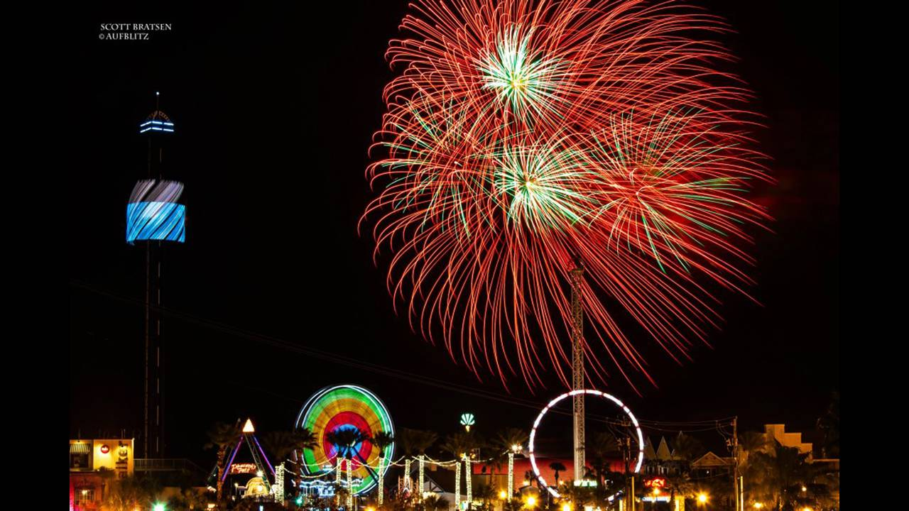 Firework Fridays at Kemah Boardwalk