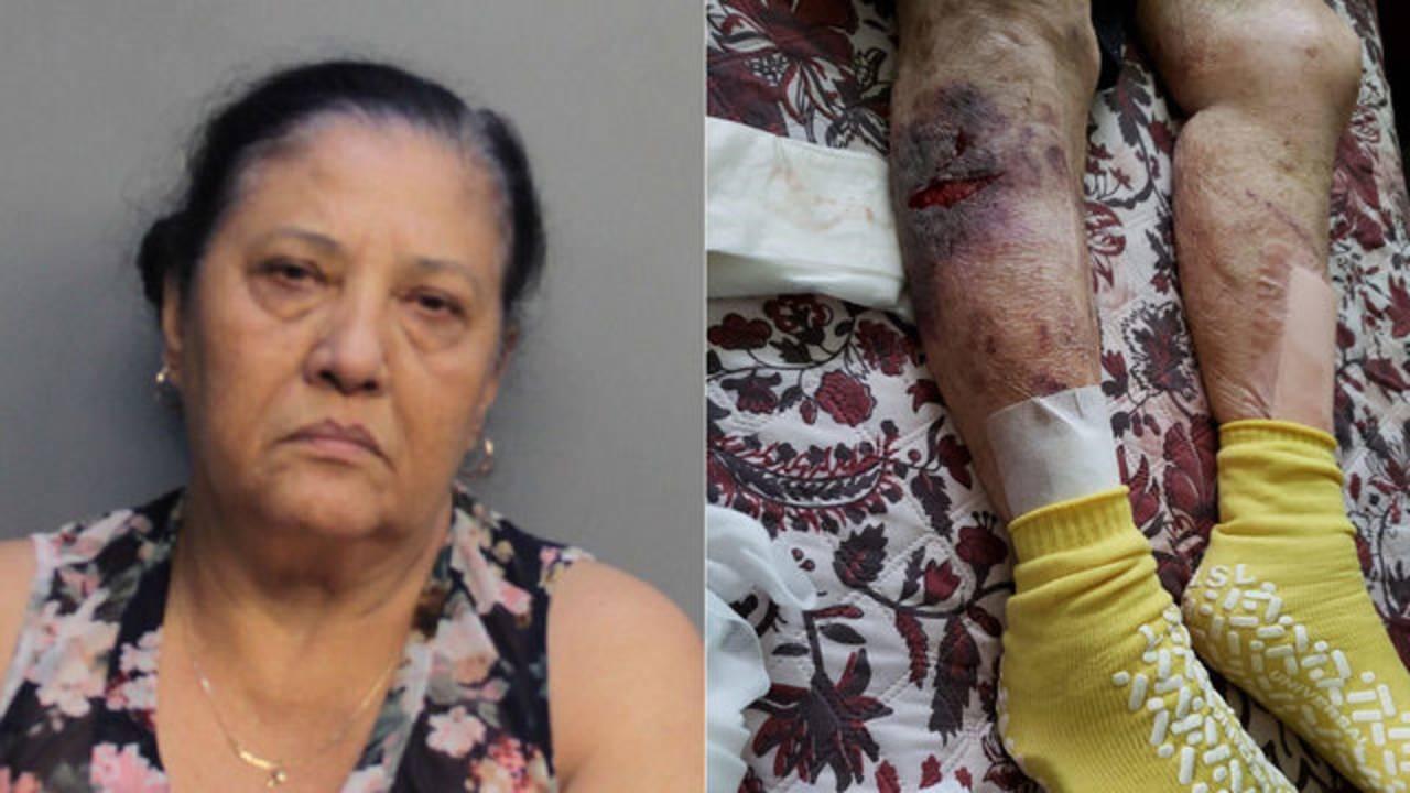 Martha Diaz Sanchez with victim photo