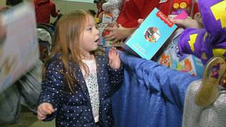 Toys putting smiles on the faces of 7,000 Jacksonville children