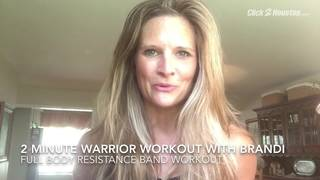 2-Minute Warrior Workout: Resistance Band