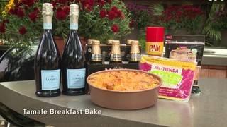 H-E-B Backyard Kitchen: Tamale Breakfast Bake