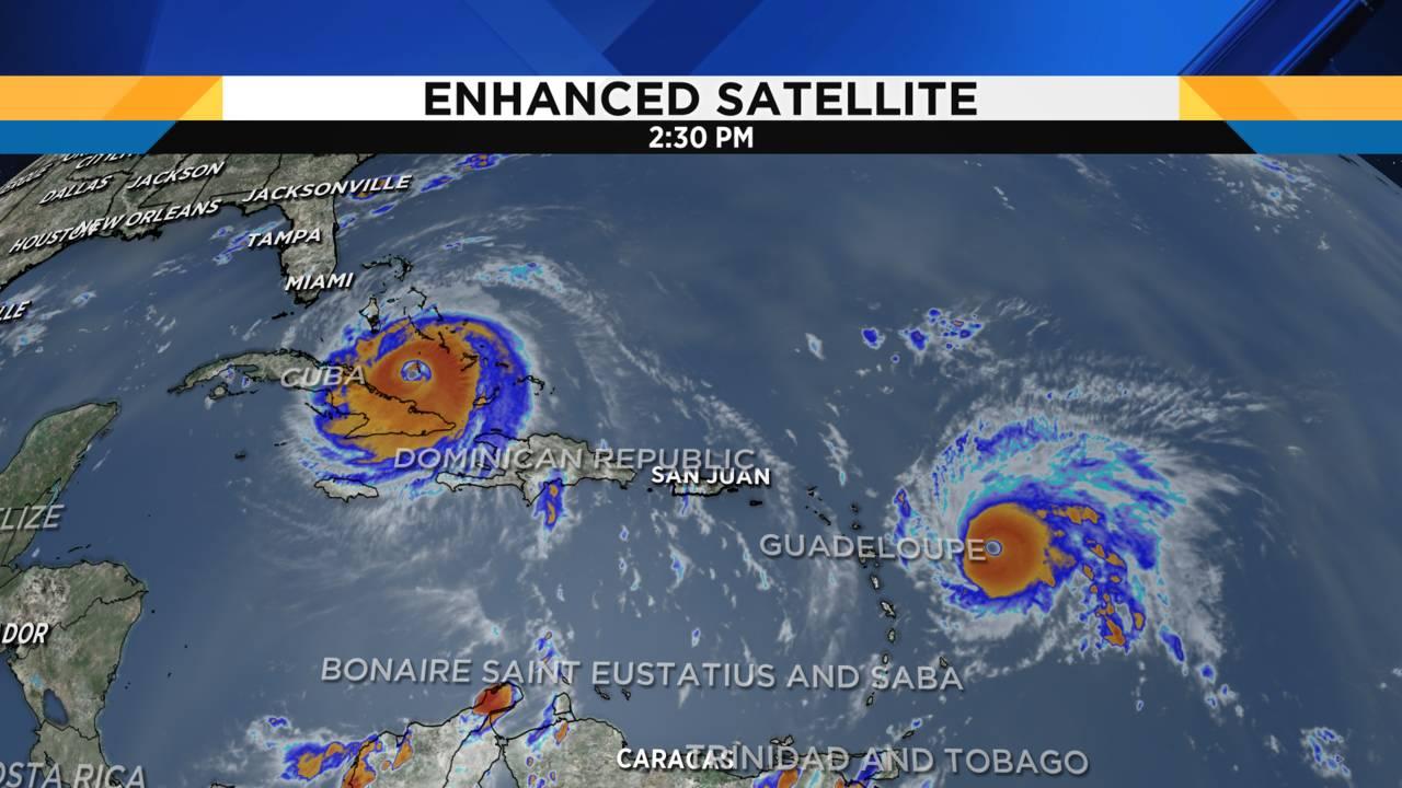 Catastrophic Hurricane Irma Takes Aim On Florida