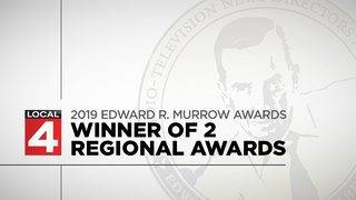 WDIV-Local 4 honored with prestigious Murrow Awards