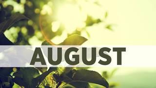 August birthday photos