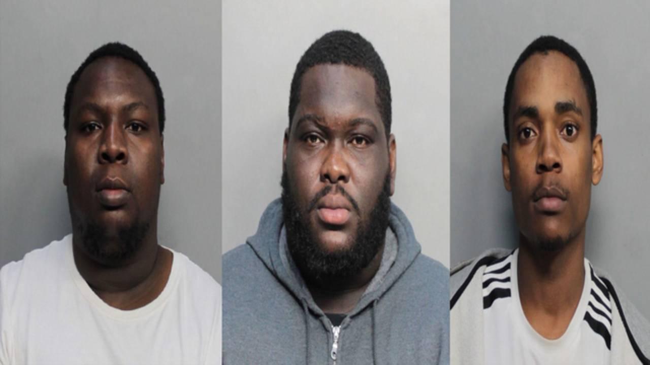 Men who robbed Mango's employee