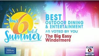 Best of Summer: The Big Easy Windermere wins best outdoor dining
