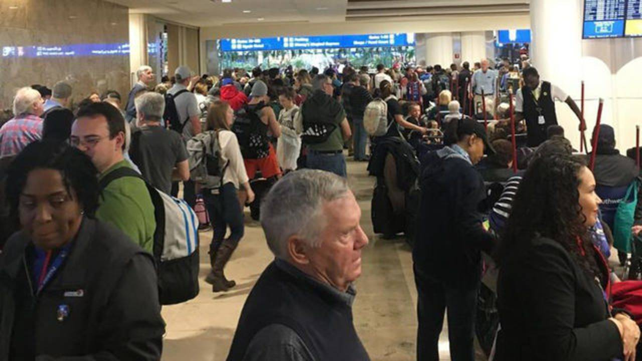 Security issue at Orlando International Airport