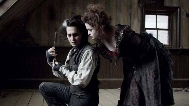 Johnny Depp and Helena Bonham Carter in Sweeney Todd_42866249652202
