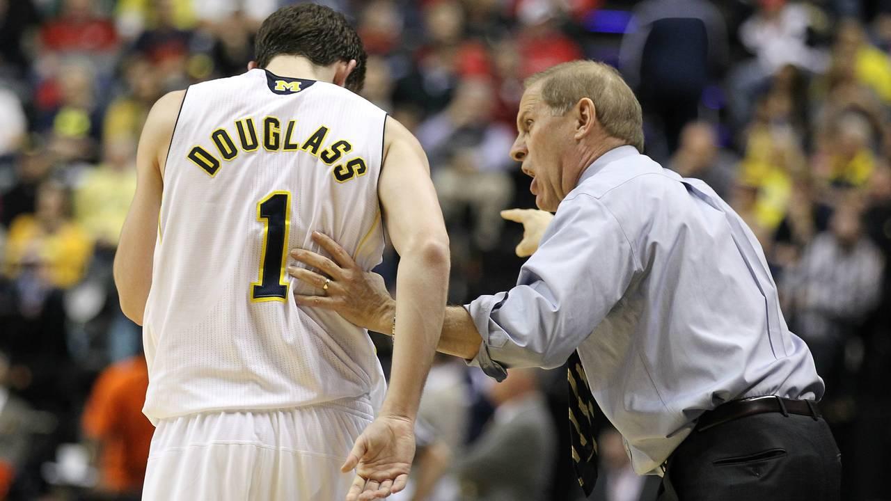 Stu Douglass Michigan basketball 2011