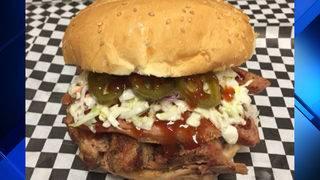 Yum! La Vernia food truck known for popular barbecue sandwich