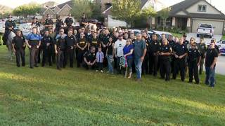 Son of fallen officer gets HPD escort on first day of kindergarten