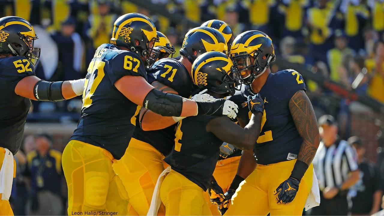 Devin Asiasi first TD Michigan football vs Penn State 2016