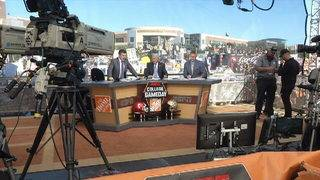 Knights fans go all out for 'College GameDay'