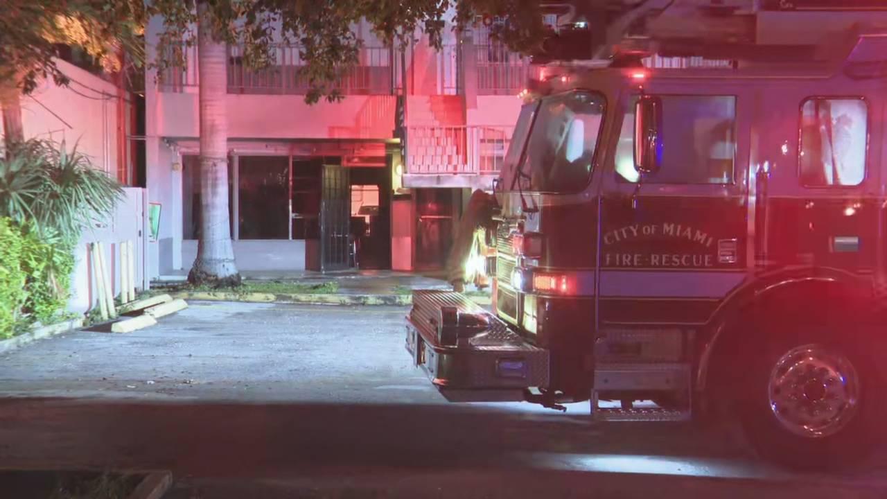 Miami strip mall fire deemed suspicious