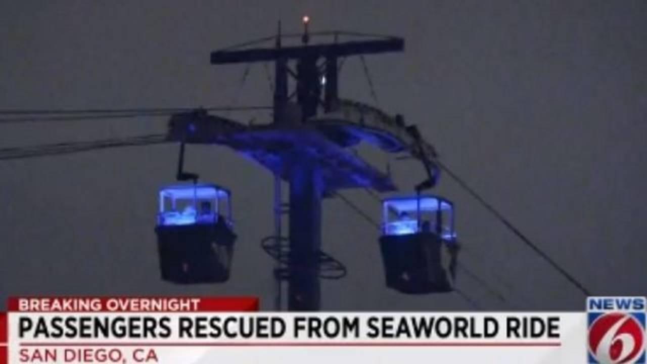 SeaWorld skyride up close