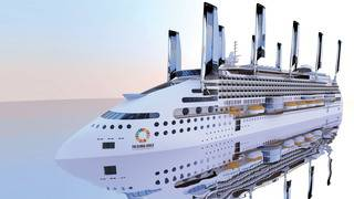 The world's greenest cruise ship will have sails