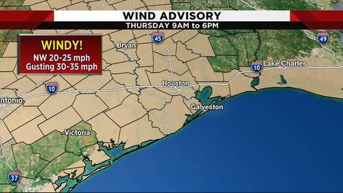 Sunshine, gusty winds back in the forecast ahead of holiday weekend