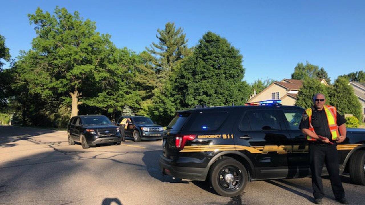Bicyclist struck by car in Wixom 1
