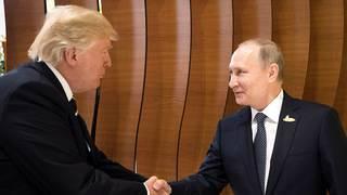 Senate Republicans break with Trump on Russia sanctions