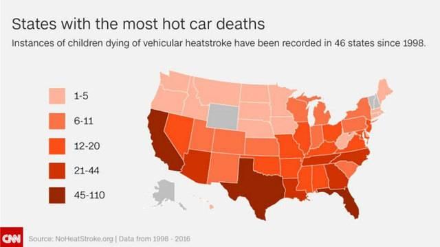 hot car deaths graph 450305494