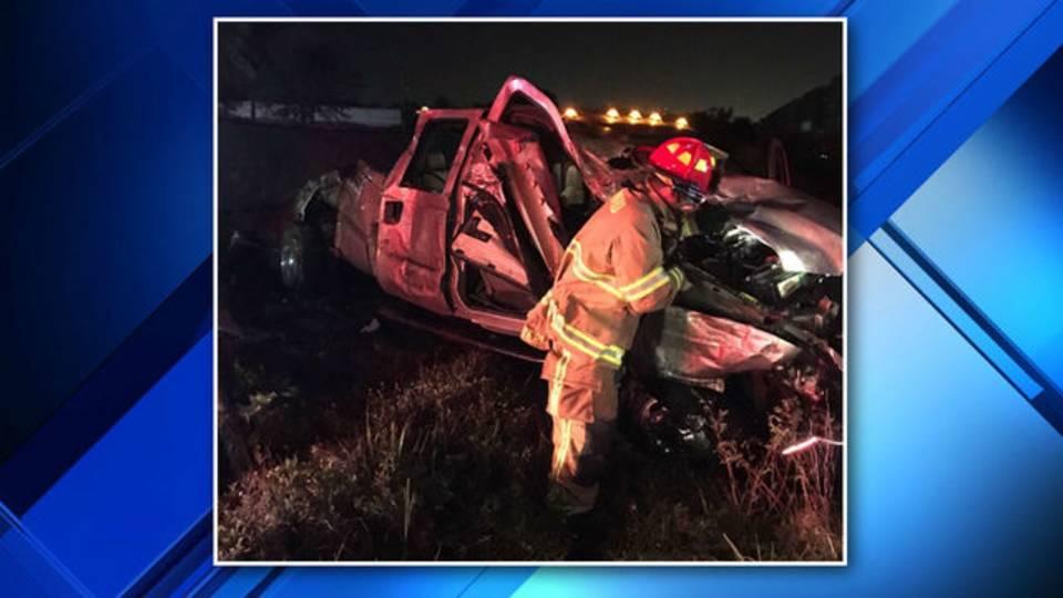 Deerfield Beach train, truck crash scene 2