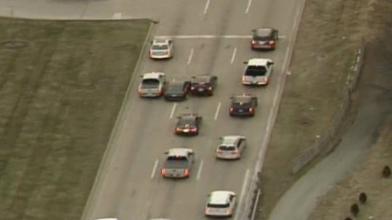Man arrested police chase Macomb County to Detroit 2