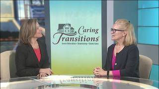 Caring Transitions talks about helping seniors relocate and downsize