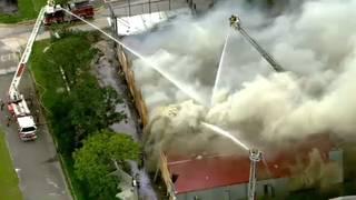 Fire destroys Longwood restaurant owner's dream location