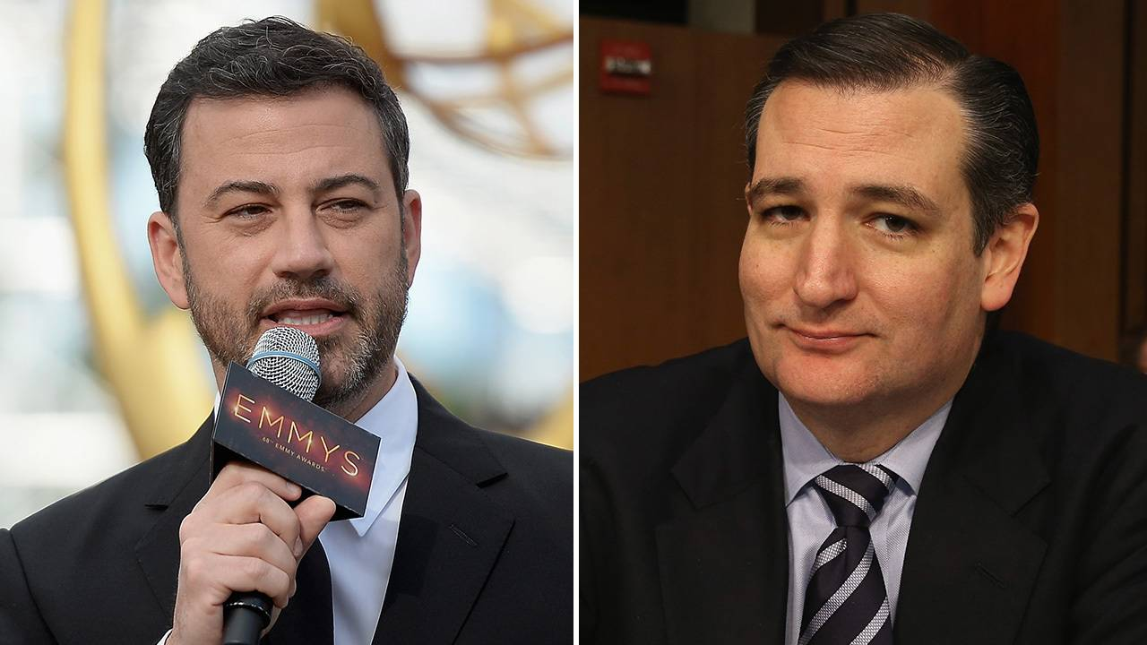 The Blob Fish Basketball Classic Inside Jimmy Kimmel Ted Cruz
