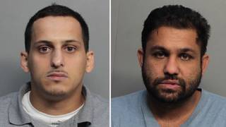 2 men arrested after pulling off distraction robbery at Hialeah home