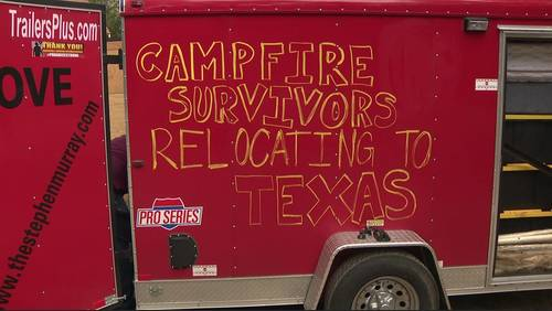 Camp Fire survivor helps fellow survivors relocate from California to Texas