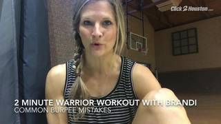 2-Minute Warrior Workout: Best Burpees Form