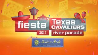 FIESTA CAM: Texas Cavaliers River Parade