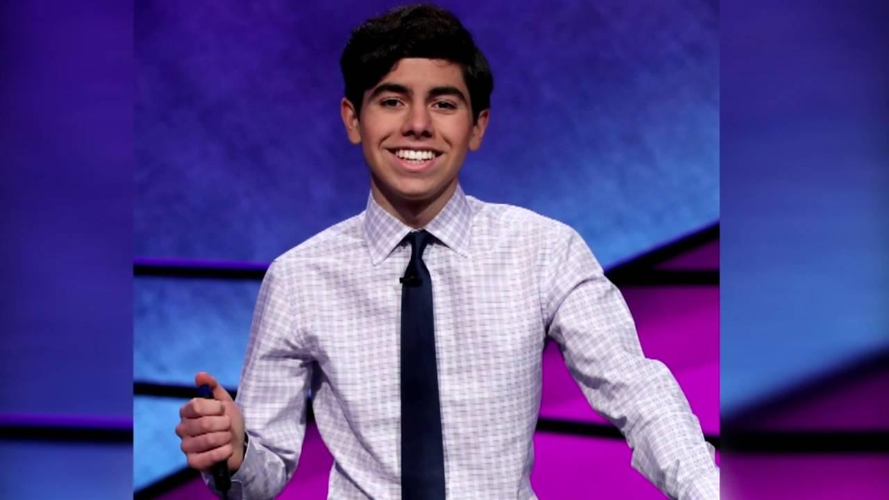 Lucas Miner on Jeopardy!