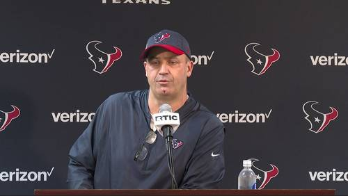 What Texans head coach Bill O'Brien said about the firing of Brian Gaine