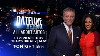 'Dateline Detroit: All About Autos' - Tonight at 8 p.m. on Local 4