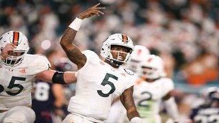 Diaz praises Perry for hard work, preparation as No. 2 quarterback
