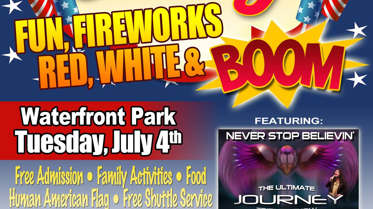 Red, White and Boom in Clermont