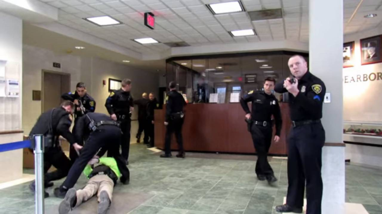 Dearborn open carry body camera picture