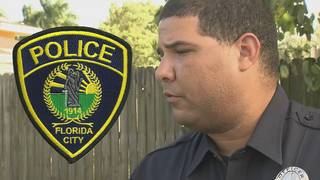 Florida City officer arrested for falsifying police reports